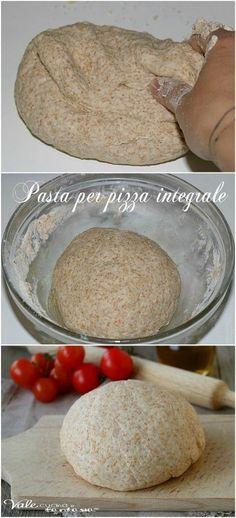 Pasta pizza integrale