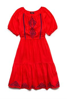 Darling Peasant Dress (Kids)   FOREVER21 girls - 2000065077
