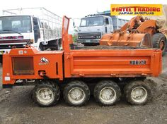 Dumtruck Kubota RC-15FD Mini Dumper 8 Wheel Drive Php 185, 000 only. See more units at our Facebook Page: Pintel Trading Japan Surplus Warehouse https://www.facebook.com/pages/Pintel-Trading-Japan-Surplus-Warehouse/693685814098786