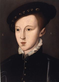 Edward VI, King of England from 1547 to 1553, was the son of Henry VIII and Jane Seymour.