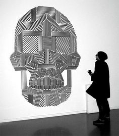 masking tape murals - Google Search