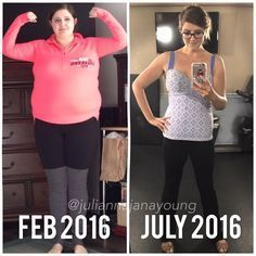 Julianna Young Lost Over 80lbs After Some Devastating Moments In Her Life!