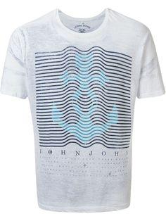 John John Camiseta Com Estampa - Restoque - Farfetch.com