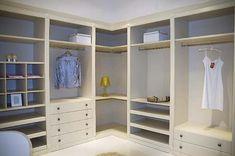 corner walk-in-wardrobe