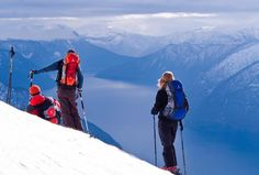 The inner part of the Sognefjord is one of the best regions for freeride skiing in Europe. Find great deals at Ski Sogn and Kjørnes Camping As