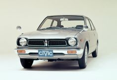 "The first generation Honda Civic. In Dutch lovingly called; ""bolletje""."