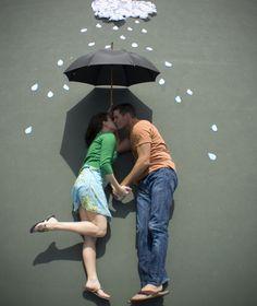 umbrella idea....cute