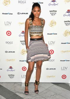 Chanel Iman Photos - Sports Illustrated Swimsuit South Beach Soiree at The Gale Hotel - Zimbio