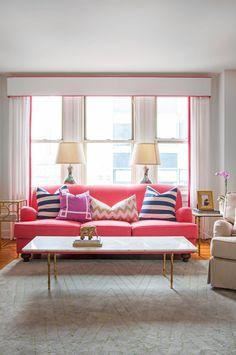 cute feminine living room!