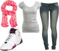 """A Jordan Day(:"" by peyton-snyder-1 ❤ liked on Polyvore"
