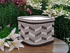 Новости Paper Weaving, Weaving Patterns, Storage Baskets, Decor, Decoration, Loom Patterns, Decorating, Deco