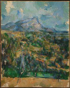 Cézanne, Mont Sainte-Victoire, 1900-6