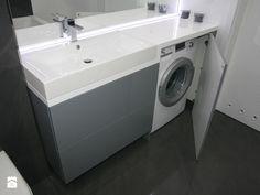 umywalka z pralką w zabudowie - zdjęcie od ML Projekt