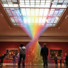 An Ethereal Rainbow of Thread Fills a Gallery at the Toledo Museum of Art