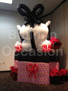 Large Christmas Gift of Balloons!