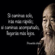 IF you walk alone, you will go faster. IF you walk accompanied, you will get further. Words Quotes, Wise Words, Me Quotes, Sayings, Inspirational Phrases, Motivational Phrases, Citation Gandhi, Quotes En Espanol, Sun Tzu