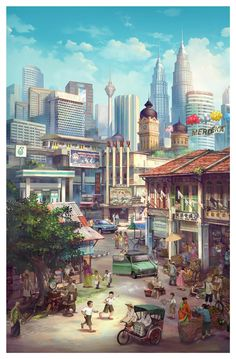 """A Walk Through Time"" Project by Petronas Malaysia"