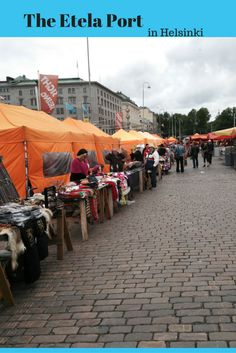 Etela market. Helsinki. Finland. Market in Finland. The place to visit in Finland. The location of Kamome shokudo.