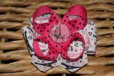 Paris HairBow $7 from https://www.facebook.com/emmybowtique