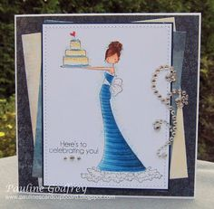 Pauline's Card Cupboard: the birthday girl