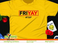 32fec6ebb At Big Frog we can put your celebrations on your shirt... everything we