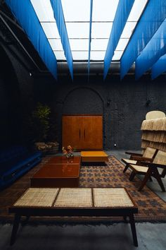 Milan Design Week day Six Gallery's upcoming hotel project - Vogue Australia Interior Architecture, Interior Design, Interior Paint, Interior Shop, Milan Hotel, Vogue Living, Living Room Sectional, Dark Interiors, Wood Interiors