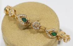 Gold Bangles Design, Gold Jewellery Design, Bridal Jewellery, Gold Bangle Bracelet, Diamond Bangle, Pearl Diamond, Gold Rings Jewelry, Beaded Jewelry, Jewelery