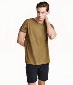 Product Detail | H&M ID Slub jersey T-shirt Rp 149,900