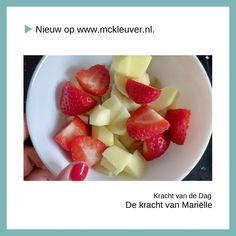 Je denkt vast, waarom fruit bij 'De kracht van..'? Om daarachter te komen lees je deze bijdrage van Melicious. 🍓 Fruit Salad, Blog, Fruit Salads
