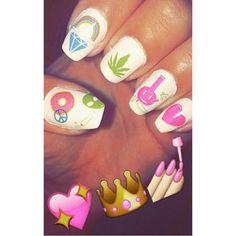 #ManiMonday via @kodapop  Get those nails on fleek with our #420 nail decal set.  Available through MMJCO.com!  #MissMaryJane #MissMaryJaneGirls #MissMaryJaneCo #MMJCO #MonicaHues
