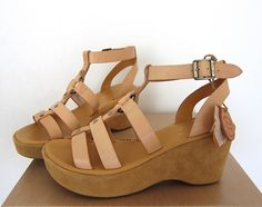 Kork-Ease Gabriela Natural Platform Sandals 8, joulesstar