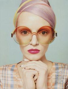 Daria Strokous Vogue Japan Beauty June 2012 Cover | Superficial Diva