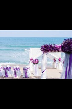 Cute beach wedding #qcschoolofeventplanning