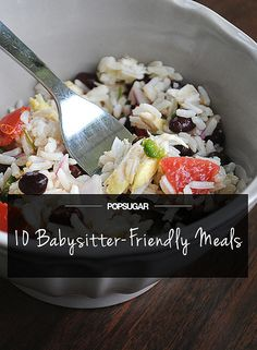 10 Meals the Babysitter Can Make