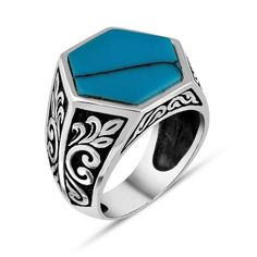 Southwest Style Sterling Silver Ocean Wave Band Ring Genuine 925 Silver 11mm size 6 Thumb Midi Cigar band