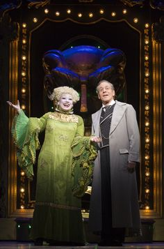Wicked the musical, madame morrible & the wizard!