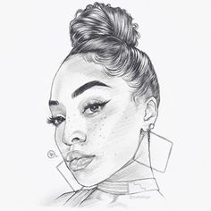 Art Desenho Criativos 34 New Ideas Girl Face Drawing, Girl Drawing Sketches, Pencil Art Drawings, Drawing Ideas, Black Love Art, Black Girl Art, Black Art Pictures, Arte Sketchbook, Afro Art