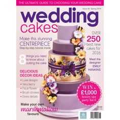 Wedding Cakes Magazine Spring 2016