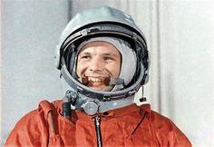 Yuri Gagarine- o primeiro astronauta.