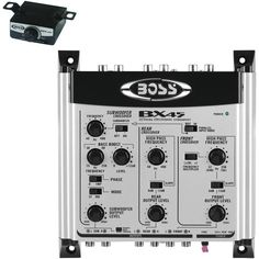 BOSS AUDIO BX45 2-3-Way Preamp Electronic Crossover