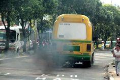Cuál sería la sancion aplicar? Buses chimenea. Los controles son insuficientes y CDA certifica sin problema su movilización. #asesorias #Tramites #transito #tramisander www.tramisander.com