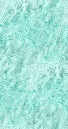 FURRY Fuzzy Awesome! __ __ Pastel mint green color - inspiration for my future projects...  ...and a great fuzzy iPhone wallpaper! ;)