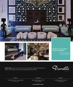 Anúncio Revista Decoração e Estilo Casa - Cliente: Dunélli House