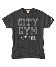 City Gym NY T-Shirt in Dark Storm