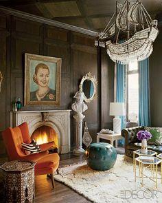 Nanette Lepore's Manhattan home: Living Room