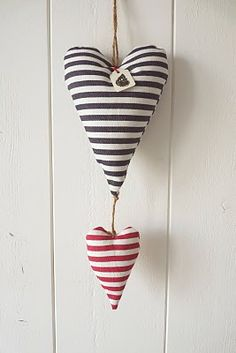 I love these striped hearts!!...they remind me of prison stripes;so they are hearts set free!!