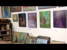 Salma Arastu's Studio Fall Open 2013