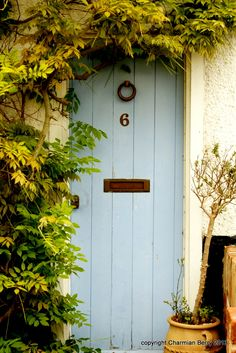 What's behind the blue door by Charmian S Berry