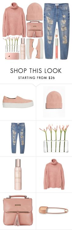 """COLAR"" by strayalley ❤ liked on Polyvore featuring Opening Ceremony, MANGO, Dot & Bo, Show Beauty, Fiorelli, Mara Hotung, Ilia and coolcorals"