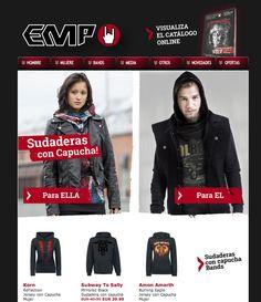 Sudaderas con Capucha en #empspain Rock mailorder #rockstyle #moda #fashion #musica #hardrock #heavymetal #liveloud!